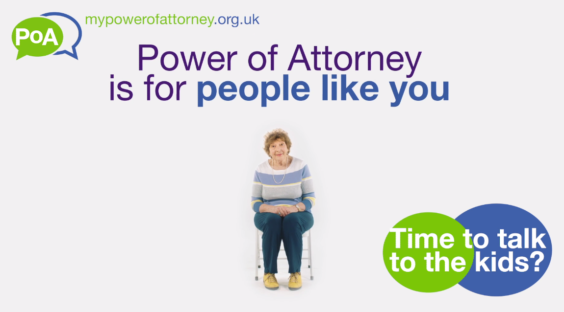 Power of Attorney (People Like You): Time to Talk to the Kids?